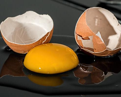 clara de huevo