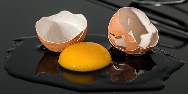 Las claras de huevo sirven para adelgazar