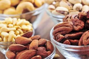 Otros frutos secos más calóricos